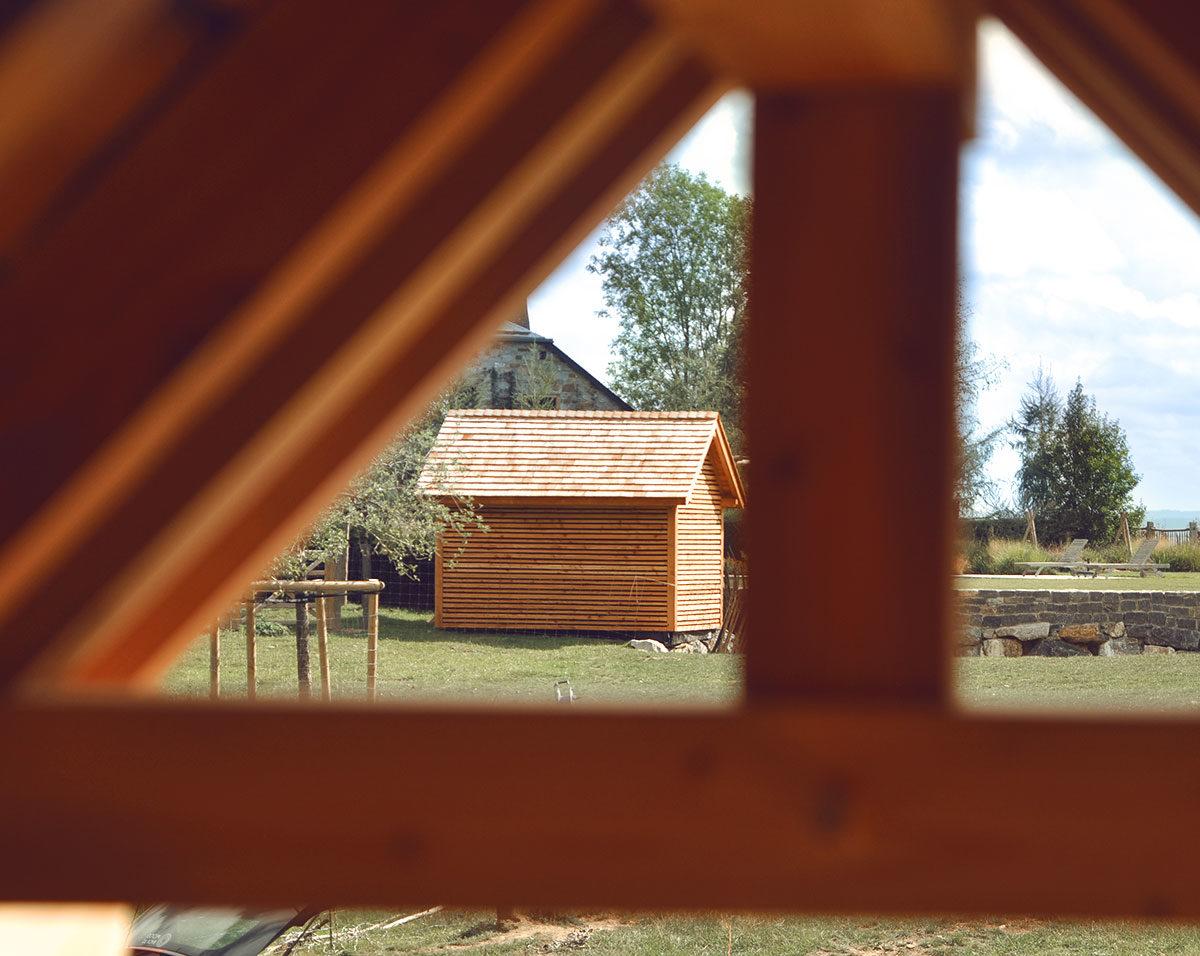 Cabanes en vis-à-vis