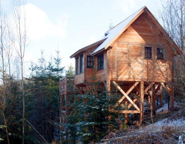 Tiny House sur pilotis (R14)