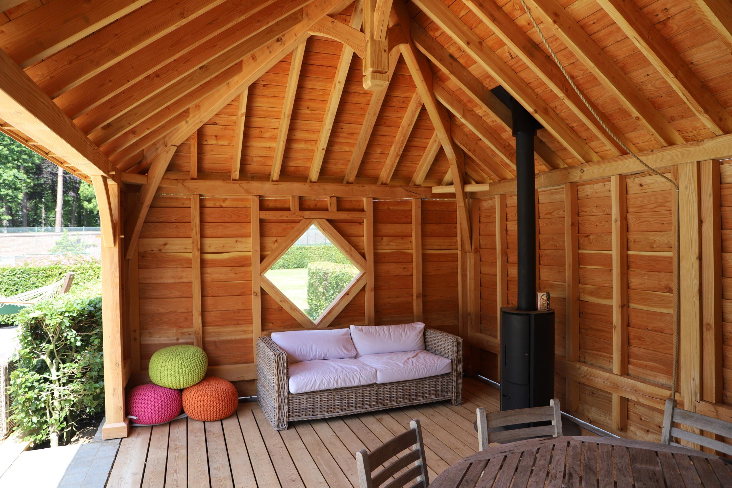 Pool house en bois sur mesure