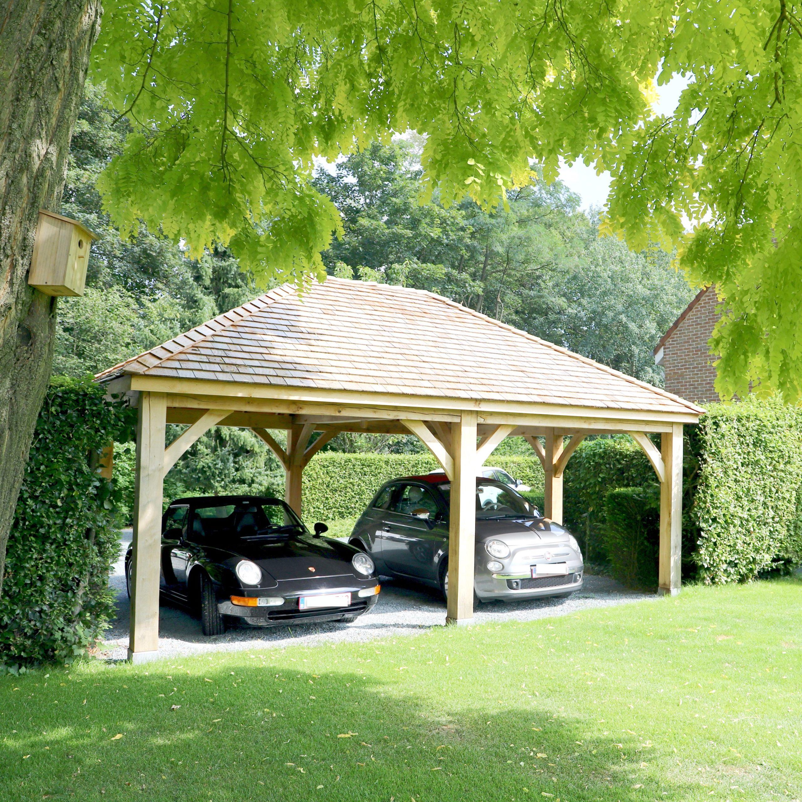 Carport en bois sur mesure