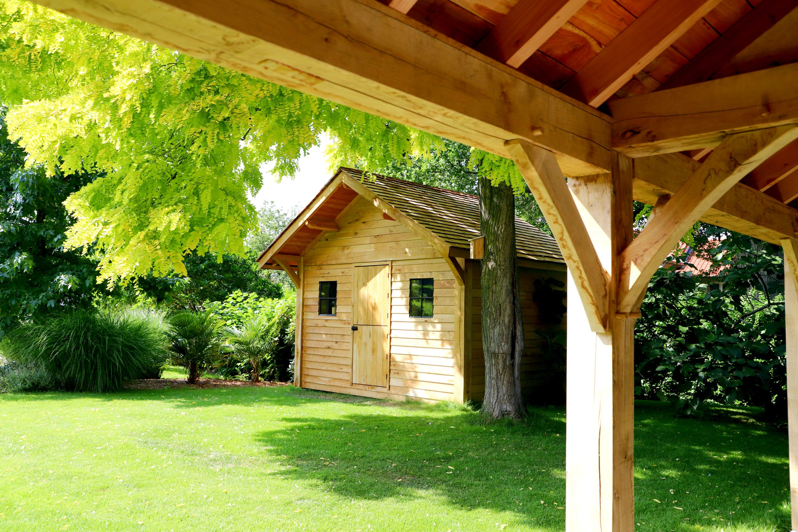 Abri de jardin en bois sur mesure